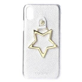 ハシバミ Hashibami Big Star iPhonecase 【ビッグスター アイフォンケース】※iPhone X用 (シルバー)