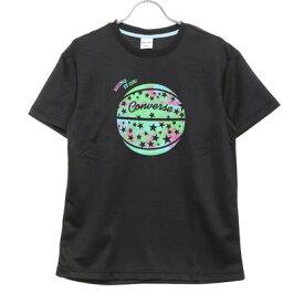 コンバース CONVERSE レディース バスケットボール 半袖Tシャツ 0S ウィメンズプリントTシャツ CB301351