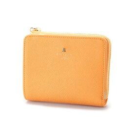 ランバン オン ブルー LANVIN en Bleu リュクサンブールカラー Lファスナー2つ折り財布 (オレンジ)