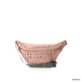 サマンサタバサプチチョイス 【ミッキー&ミニー】 ワークアウトシリーズ (ウエストバッグ) ピンク