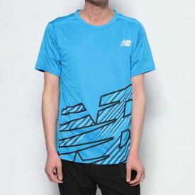ニューバランス new balance メンズ 陸上/ランニング 半袖Tシャツ AMT01206 AMT01206