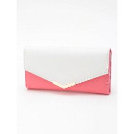 【アウトレット】セシルマクビー CECIL McBEE フラワーポイント長財布 (ピンク)