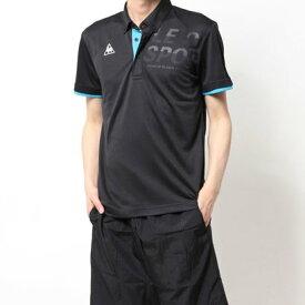 ルコックスポルティフ le coq sportif メンズ 半袖ポロシャツ ハンソデポロシャツ QMMPJA42