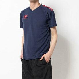 アンブロ UMBRO メンズ サッカー/フットサル 半袖シャツ TRハンソデプラクテイスシヤツ UUUPJA52