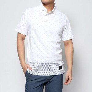 【アウトレット】アディダス adidas メンズ ゴルフ 半袖シャツ ADICROSS TOKYOプリント 半袖ポロ FJ4368