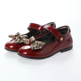 【アウトレット】ヨーロッパコンフォートシューズ EU Comfort Shoes Naturino ベビーパンプス (ワイン)