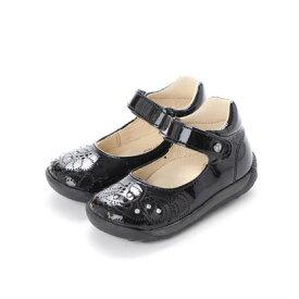 【アウトレット】ヨーロッパコンフォートシューズ EU Comfort Shoes Naturino ベビーパンプス (ブラック)