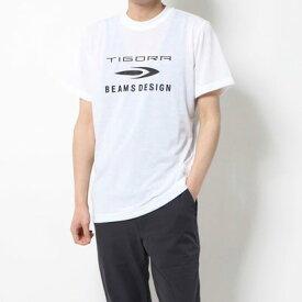 ティゴラ TIGORA メンズ 陸上/ランニング 半袖Tシャツ TIGORA/BEAMS DESIGN ドライロゴTシャツ TR-9P1350TS