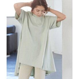 ティティベイト titivate バックフレアTシャツ (ミントグリーン)