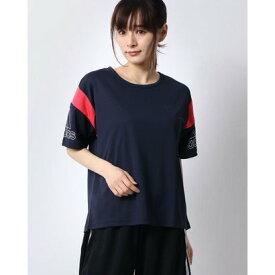 アディダス adidas レディース 半袖機能Tシャツ W MH カラーブロック ルーズTシャツ FM5171