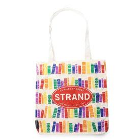 ラキュート LA CUTE 【STRAND BOOK STORE】Rainbow Booksトートバッグ (WHITE)