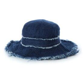セシルマクビー CECIL McBEE レディース マリン 帽子 ツバ広デニムハット 220127 【返品不可商品】