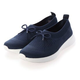 フィットフロップ fitflop ADORA BOW-DETAIL BALLERINA (Midnight Navy Mix)