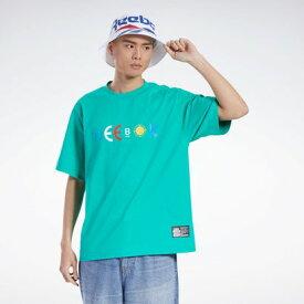 リーボック Reebok【Reebok CLASSIC x BLACK EYE PATCH】ブラック アイ パッチ Tシャツ / BLACK EYE PATCH Tee (グリーン)