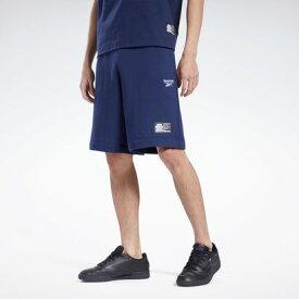 リーボック Reebok【Reebok CLASSIC x BLACK EYE PATCH】ブラック アイ パッチ ショーツ / BLACK EYE PATCH Shorts (ブルー)