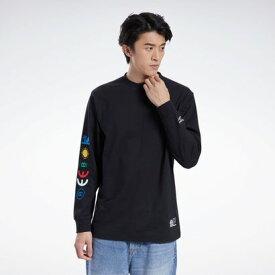 リーボック Reebok【Reebok CLASSIC x BLACK EYE PATCH】ブラック アイ パッチ Tシャツ / BLACK EYE PATCH Tee (ブラック)
