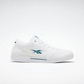 【アウトレット】リーボック Reebokスライス キャンバス / Slice Canvas Shoes (ホワイト)