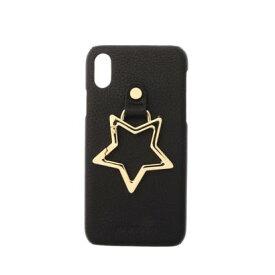 ハシバミ Hashibami Big Star iPhonecase 【ビッグスター アイフォンケース】※iPhone X/XS用 (ブラック)