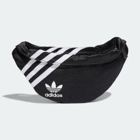 アディダス adidas ウエストバッグ (ブラック)