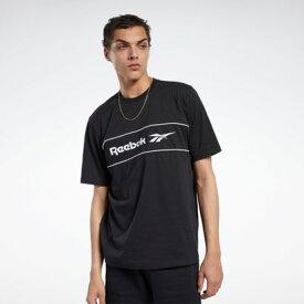 【アウトレット】リーボック Reebokクラシックス リニア Tシャツ / Classics Linear Tee (ブラック)