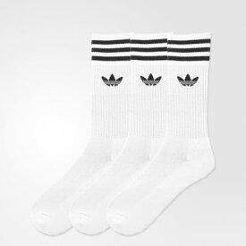 アディダス adidas オリジナルス ソリッドクルーソックス/靴下 (ホワイト)