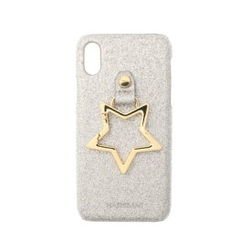 ハシバミ Hashibami Big Star iPhonecase 【ビッグスター アイフォンケース】※iPhone X/XS用 (シルバー)