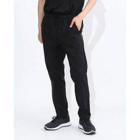 ルコックスポルティフ le coq sportif メンズ ツイルロングパンツ エアスタイリッシュパンツES(テーパード) QLMQJD60 (ブラック)