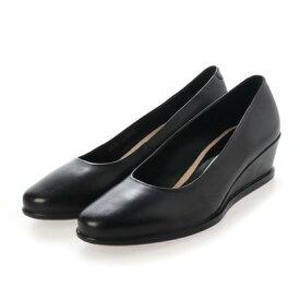 エコー ECCO ECCO SHAPE 45 WEDGE Loafer (BLACK)