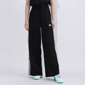 アディダス adidas レディース ジャージパンツ WMHWIDEPANT FR5116 (ブラック)