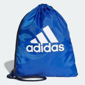 アディダス adidas ビッグロゴジムバッグ (ブルー)