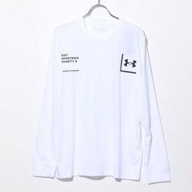 アンダーアーマー UNDER ARMOUR メンズ 長袖Tシャツ UA 1996 LS 1357178 (ホワイト)