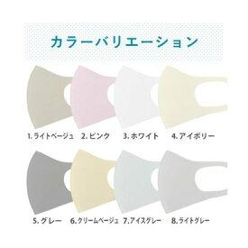 SFW エス エフ ダブリュー 繰り返し洗える日本製マスク2枚入り/接触冷感 通気性/MK-4120【返品不可商品】 (Lグレー)