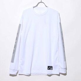 アシックス asics バスケットボール 長袖Tシャツ ロングスリーブトツプス 2063A144 (ホワイト)