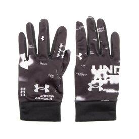 アンダーアーマー UNDER ARMOUR 手袋 UA Cold Weather Glove 1358895 (ブラック)