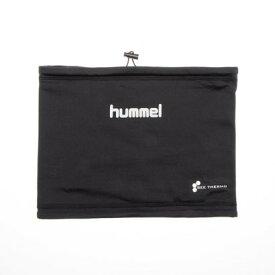 ヒュンメル hummel メンズ サッカー/フットサル ネックウォーマー アッタカネックウォーマー HFA3049 (ブラック)
