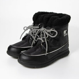 ソレル SOREL 軽量ショートブーツ(ブラック)