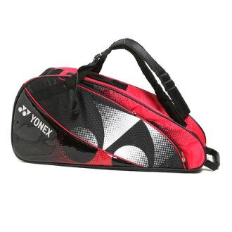 Yonex Yonex 羽毛球球拍袋 6 袋 1502 R 黑