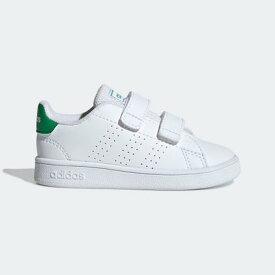 アディダス adidas 子供用 アドバンテージ [Advantage Shoes] (ホワイト)