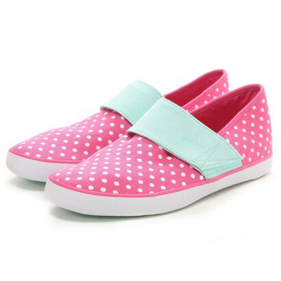 【アウトレット】プーマ PUMA atmos LAZY SLIP-ON DOT WMNS(PINK)