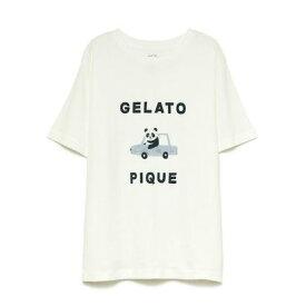 ジェラートピケ gelato pique くるまモチーフワンポイントTシャツ (OWHT)