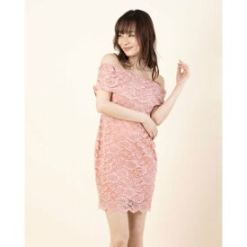 【アウトレット】ゲス GUESS OFF SHLDR ROSEMARY LACE DRESS (RSTT)