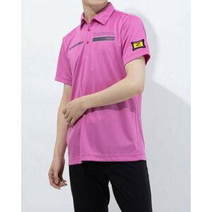 スリクソン SRIXON メンズ ゴルフ 長袖シャツ ハンソデシャツ RGMRJA40AP (ピンク)