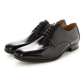 キタジマ 北嶋製靴 ビジネスシューズ メンズドレスシューズ 外羽根スワローモカ 紳士靴 革靴 牛革 日本製 幅広 4E 大きいサイズ No.K7000 (ブラック) (ブラック)