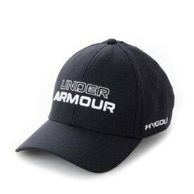 アンダーアーマー UNDER ARMOUR メンズ ゴルフ キャップ UA Jordan Spieth Tour Hat 1361545 (ブラック)
