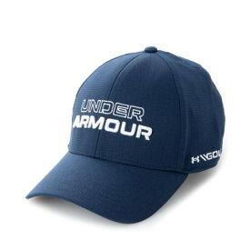 アンダーアーマー UNDER ARMOUR メンズ ゴルフ キャップ UA Jordan Spieth Tour Hat 1361545 (ネイビー)