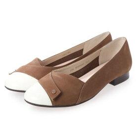 【アウトレット】シューズラウンジ アウトレット shoes lounge OUTLET プレーン パンプス 52MOD6004CAM/C (キャメル)