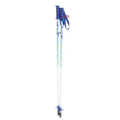 カザマ KAZAMAジュニア スキーポール KZM SPAX B(S) ブルー
