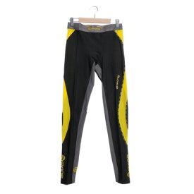 【アウトレット】スキンズ SKINS スポーツロングタイツ DNA M ロングタイツ DK9905001 (ブラック×シトロン)