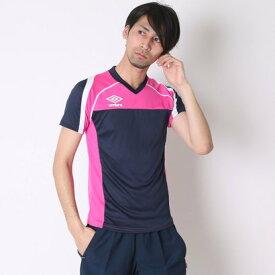 【アウトレット】アンブロ UMBRO メンズ サッカー/フットサル 半袖シャツ プラクティスシャツ UBS7600SD