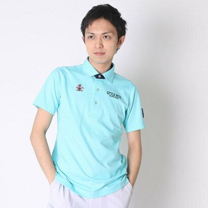 【アウトレット】マンシングウェア Munsingwear ゴルフシャツ 半袖シヤツ(ニツト) RM1580 (ターコイズブルー)